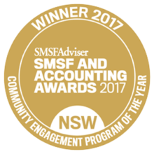 SMSF Award winners in Newcastle